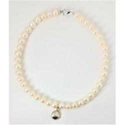 Bracciale donna in perle di...