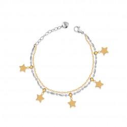 Bracciale donna con stelle...