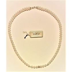Collana donna con perle di...