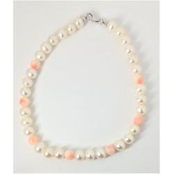Bracciale donna in perle e...