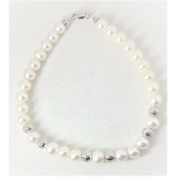 Bracciale donna in perle co...